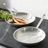 Crate & Barrel All-Clad ® d5 ® Stainless Steel Fry Pans
