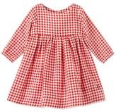 Petit Bateau Baby girls checkered dress