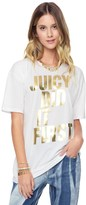 Juicy Couture Juicy Did It First Graphic Tee