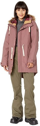Burton Saxton Parka (Rose Brown 1) Women's Coat
