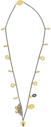 Swarovski Crystal Magnetic 23K Plated Necklace