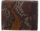 Class Roberto Cavalli Embossed Leather Joseph Wallet
