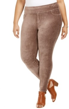 Style&Co. Style & Co Plus Size Corduroy Leggings, Created for Macy's
