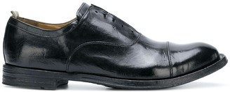 Officine Creative Worn Effect Oxford Shoes