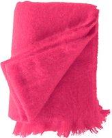 Mohair Throw - Hot Pink