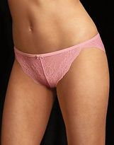 Maidenform Women's Lingerie Lace Tanga Panty