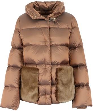 Fay Fur Pocket Down Jacket
