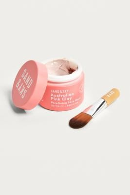 Sand & Sky Australian Pink Clay Face Mask - Pink ALL at Urban Outfitters