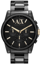 Armani Exchange Chronograph Bracelet Watch, 45mm