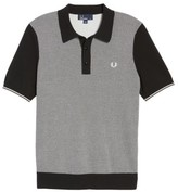 Fred Perry Men's Houndstooth Knit Polo