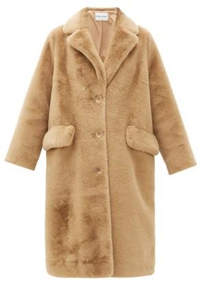 Theresa Stand Studio Faux-fur Coat - Womens - Brown
