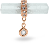 Jacquie Aiche Diamond, aquamarine & rose-gold earring
