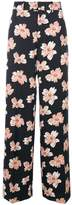 Joseph floral wide leg trousers