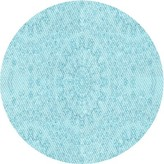 Blue Area Abstract Light Rug East Urban Home Rug Size: Rectangle 2' x 3'