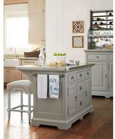 Paula Deen Dogwood The Kitchen Island in Cobblestone Finish