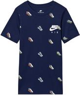 Nike Blue Trainer Print Air Max Tee