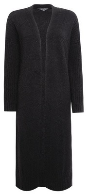 Dorothy Perkins Womens Black Maxi Knitted Cardigan, Black