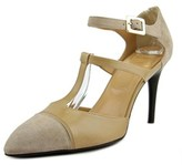 Roger Vivier T-strap T. 85 Pointed Toe Leather Mary Janes.