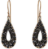 Black Diamond Fabrizio Riva Women's Teardrop Earrings