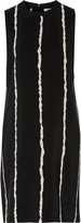 Derek Lam 10 Crosby Cutout printed silk crepe de chine mini dress
