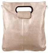 Lanvin Metallic Leather Satchel