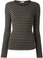 P.A.R.O.S.H. striped fine knit jumper
