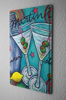 leotie fashion&lifestyle Tin Sign Metal Poster Posters Olive Martini Glass Kitchen Dekoracion 8X12