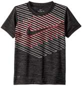 Nike Linear Ombre Chevron Dri-FIT Tee Boy's T Shirt