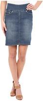 Jag Jeans Ingram Skirt Comfort Denim in High Tide