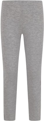 Dimensione Danza Grey Girl Leggings With Logo