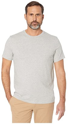 J.Crew Essential Crewneck T-Shirt (Heather Grey) Men's Clothing