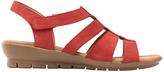 Farlee Dark Red Nap Sandal