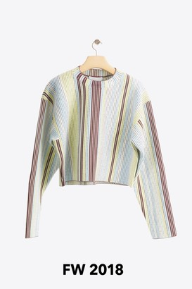 3.1 Phillip Lim Exclusive: Jacquard Cropped Pullover