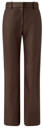 Joseph Leather Coleman Trousers