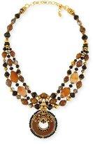 Jose & Maria Barrera Multi-Strand Pendant Necklace, Multi