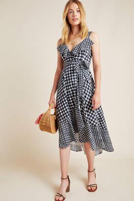 Hutch Allison Gingham Wrap Dress