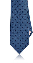 Fairfax MEN'S POLKA DOT SILK TWILL NECKTIE