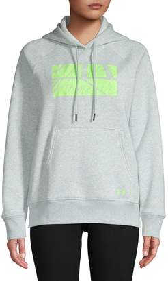 Under Armour Fit Kit Favourite Fleece Graphic Hoodie