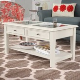 Three Posts Godbey Coffee Table Color: Classic White