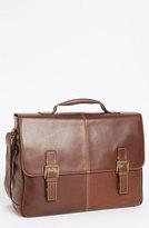 Boconi Men's 'Bryant' Leather Briefcase - Brown