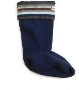 Hunter Toddler & Kid's Striped-Cuff Boot Socks