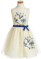 Iris & Ivy Girl's Embroidered Sleeveless Dress