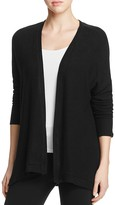 Three Dots Drop Shoulder Brushed Cardigan
