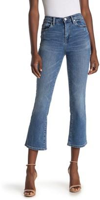 Blanknyc Denim High Rise Flare Leg Crop Jeans