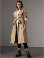Burberry The Westminster - Extra-long Trench Coat , Size: 02, Yellow