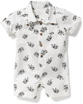 Old Navy Elephant-Print One-Piece for Baby