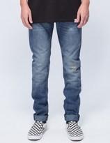 Diamond Supply Co. Medium Wash Sk8 Life Skinny Fit Denim Jeans
