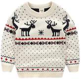 Moyishi Children's Fireplace Lovely Sweater For Christmas Best Gift