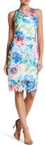 Betsey Johnson Sleeveless Lace Sheath Dress