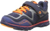 pediped Force Boys Running Shoes Navy Orange - Size 13 US (Kids)